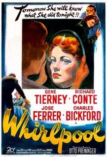 <i>Whirlpool</i> (1949 film) 1950 film by Otto Preminger