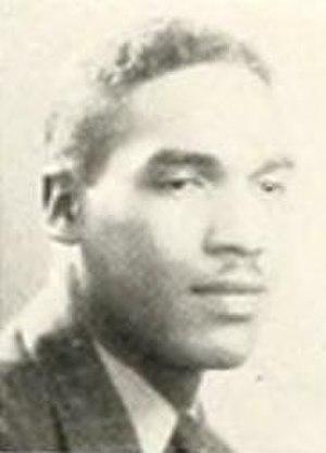 William Burghardt - Burghardt pictured in The Eagle 1940, NCC yeaarbook