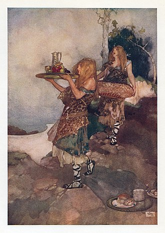 William Russell Flint - Image: William Russell Flint W. S. Gilbert Savoy Operas Princess Ida 4