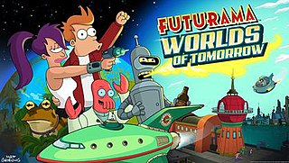 <i>Futurama: Worlds of Tomorrow</i> 2017 mobile game based on Futurama series