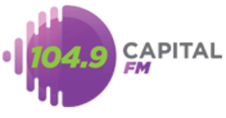 XHNAQ-FM - Image: XHNAQ Capital FM104.9 logo