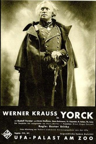 Yorck - Image: Yorck film