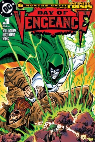 "Day of Vengeance - Image: ""Day of Vengeance"" no. 1 (2005 front cover)"