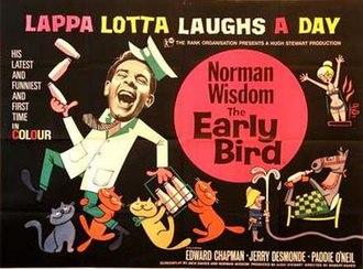 The Early Bird - original UK Quad poster