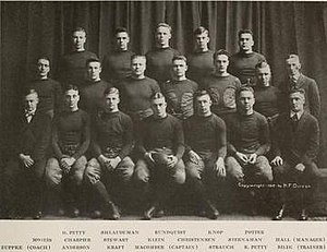 1916 Illinois Fighting Illini football team - Image: 1916 Illinois Fighting Illini football team