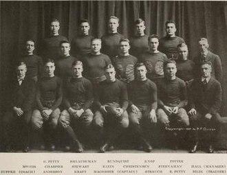 1916 Illinois Fighting Illini football team - Image: 1916 Illinois Fighting Illini football team