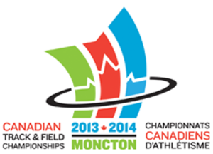 Canadian Track and Field Championships - Image: 2013 2014 Canadian Track and Field Championships Logo