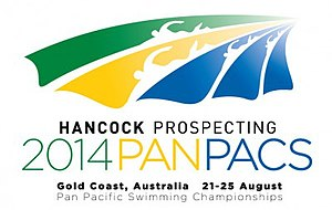 2014 Pan Pacific Swimming Championships - Image: 2014 Pan Pacific Swimming Championships logo