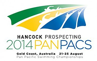 2014 Pan Pacific Swimming Championships - Image: 2014 Pan Pacific Swimming Championships logo