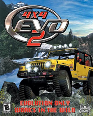 4x4 EVO 2 - North American cover art for PC