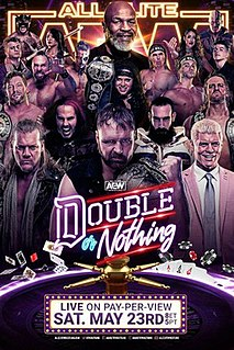 Double or Nothing (2020) 2020 professional wrestling event promoted by All Elite Wrestling
