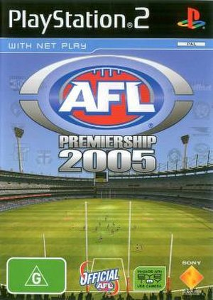 AFL Premiership 2005 - PlayStation 2 cover art