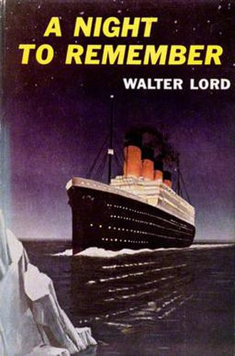 A Night to Remember (book) - 1955 first edition cover