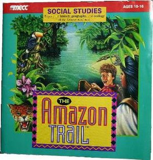 The Amazon Trail - Image: Amazon Cover Art