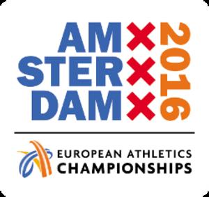 2016 European Athletics Championships - Image: Amsterdam 2016logo