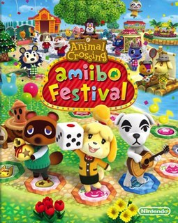 <i>Animal Crossing: Amiibo Festival</i> 2015 video game