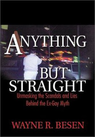 Anything But Straight - Cover of the first edition
