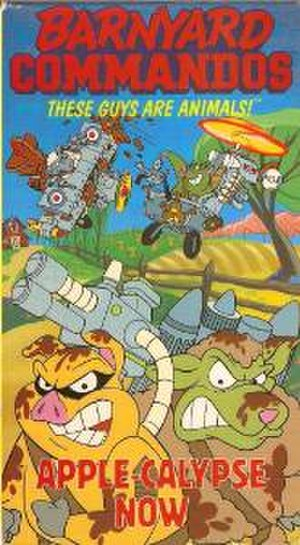 "Barnyard Commandos - VHS cover of ""Apple-Calypse Now"""