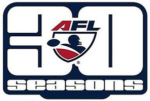 2017 Arena Football League season - Image: Arena Football League 30 seasons logo