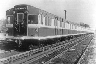Bluebird Compartment Car (New York City Subway car) - The BMT Bluebird Compartment Car