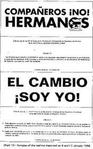 1996 shootdown of Brothers to the Rescue aircraft - Sample political leaflet dropped by Brothers to the Rescue on Cuba in 1996.