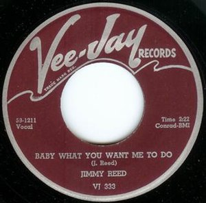 Baby What You Want Me to Do - Image: Baby What You Want Me to Do single cover