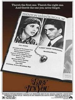 <i>Baby Its You</i> (film) 1983 film by John Sayles