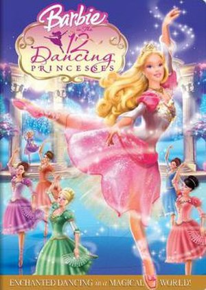 Barbie in the 12 Dancing Princesses - DVD cover