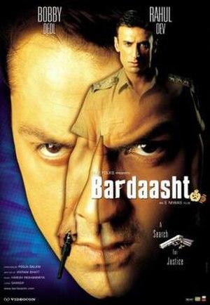 Bardaasht - Movie poster for Bardaasht