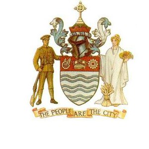 Coat of arms of Barrie - Image: Barrie, Ontario Coat of Arms