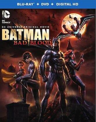 Batman: Bad Blood - Blu-ray cover art