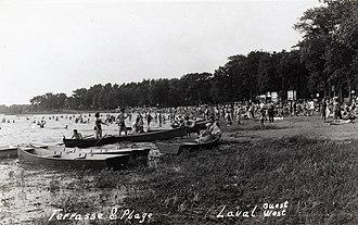 Laval-Ouest - Laval Ouest/West -  Berge Aux Quatre Vents Summer 1950's