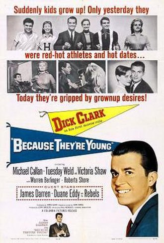 Because They're Young - Theatrical release poster