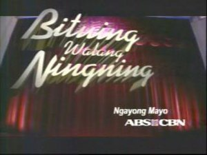 Bituing Walang Ningning - Bituing Walang Ningning Promotional Logo (used for trailer in April 2006)