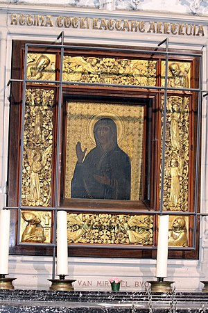 St. Rumbold's Cathedral - Black Madonna painting