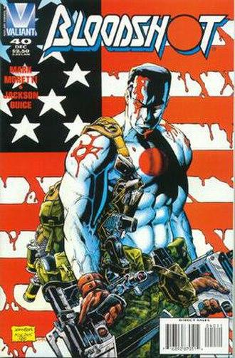 Bloodshot (comics) - Image: Bloodshot 40