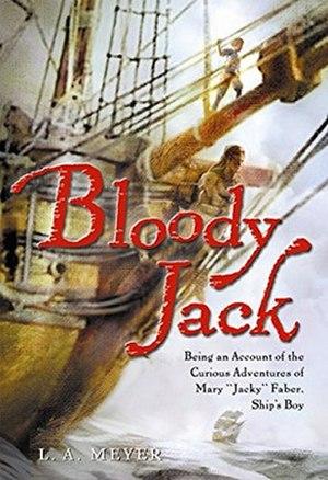 Bloody Jack (novel) - Image: Bloody Jack cover
