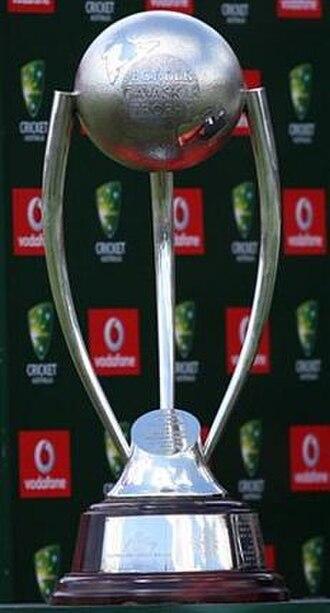 Border–Gavaskar Trophy - The Border-Gavaskar Trophy