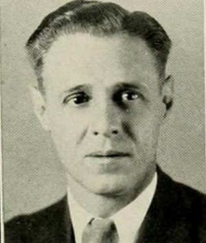 C. B. Johnston - Johnston pictured in The Rhododendron 1933, Appalachian State yearbook