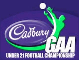 2010 All-Ireland Under-21 Football Championship - Image: Cadbury gaa