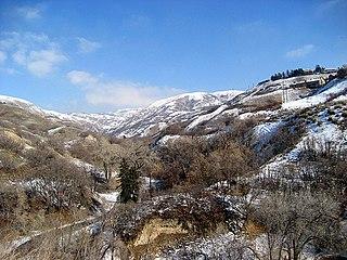 City Creek (Utah) stream in Salt Lake City, Utah
