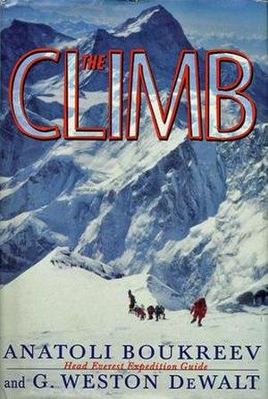 The Climb (book) - Image: Climb cover