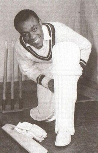 Conrad Hunte - Conrad Hunte in 1963