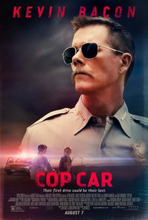 Cop Car (film) - Theatrical release poster