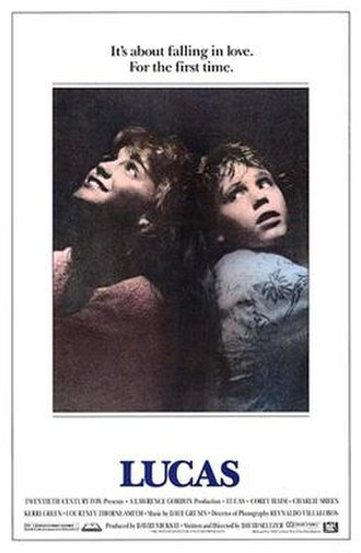 Lucas (film) - Theatrical release poster