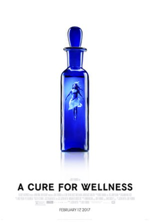 A Cure for Wellness - Theatrical release poster