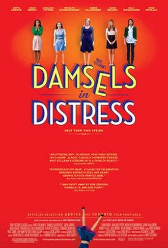 Damsels in Distress - Image: Damsels in distress poster