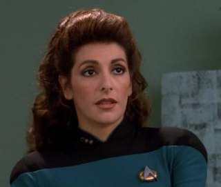 Deanna Troi Fictional character from Star Trek