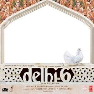 Delhi-6 (soundtrack) - Image: Delhi 6albumcover