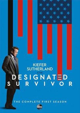 Designated Survivor (season 1) - DVD cover